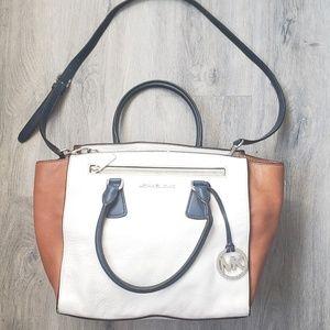 Michael Kors Leather Cross Body Bag